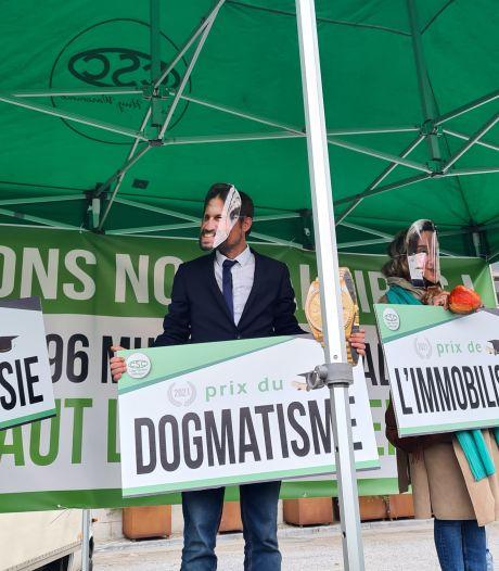 Manifestation nationale: la CSC décerne le prix de l'hypocrisie à...