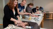 Workshop babymassage in Huis van het Kind