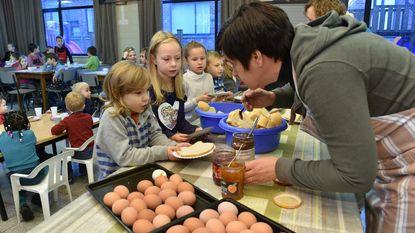 Leerlingen mogen dag lang koken en smullen