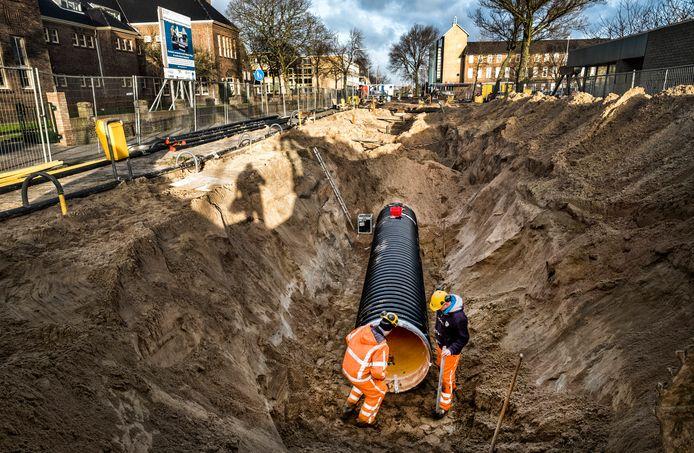 In IJmuiden hebben ze al ervaring met riothering, waar rioolwater een middelbare school verwarmt.