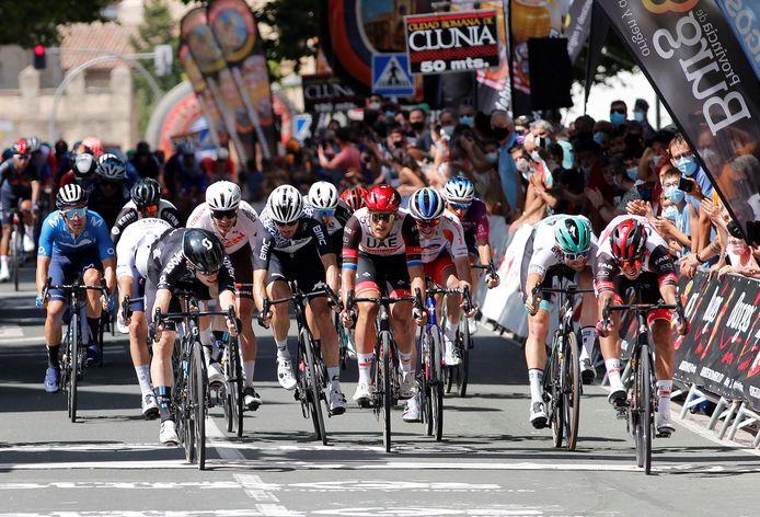 Molano won woensdag ook al de eerste rit in de Ronde van Burgos.