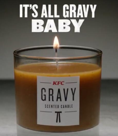 KFC komt met geurkaars die naar jus ruikt