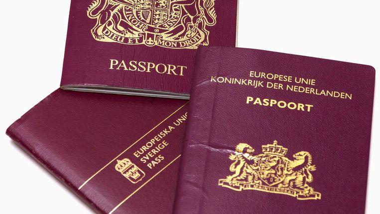 Europese paspoorten Beeld Shutterstock