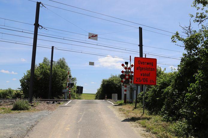 Deze overweg aan Hoge Kouter zal je vanaf 25 juni niet meer kunnen oversteken.