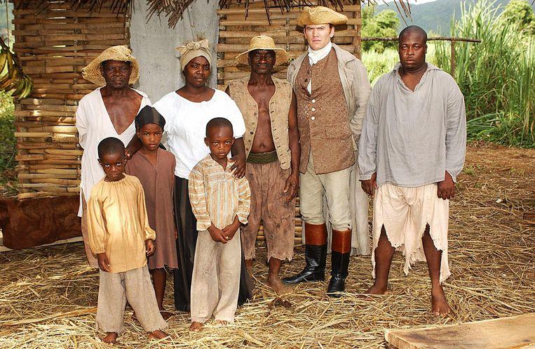 Scène uit de tv-serie 'The Slavery Business'. Beeld KAPA