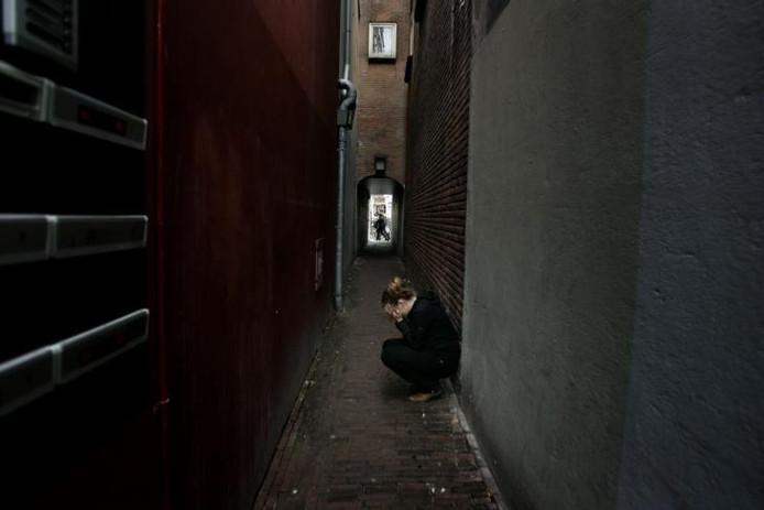 Bijstandsgerechtigden die depressief of labiel zijn, worden gedwongen zich te laten behandelen bij een GGZ-instelling. foto Frouwkje Bijlstra/GPD