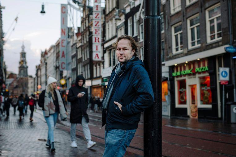 Pim Evers is sinds 2018 voorzitter van de KHN, afdeling Amsterdam. Beeld Marc Driessen