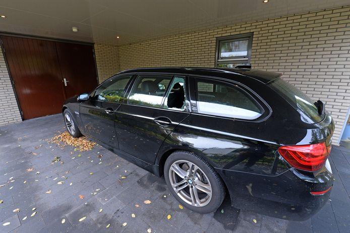 In de auto van Bram de Moor werd ingebroken door de autokrakers.