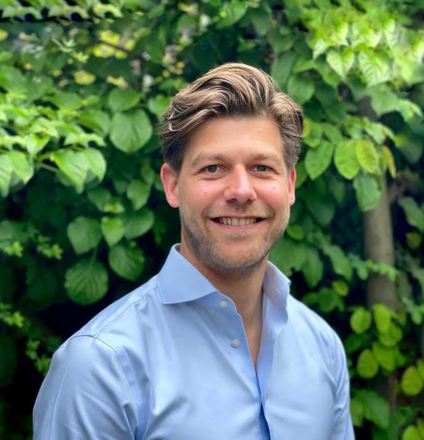 Niels van Stappershoef is de nieuwe lijsttrekker voor VVD Tilburg.