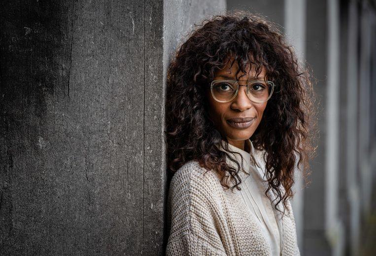 Sylvana Simons hoopt dat haar kleinkind kan opgroeien zonder Zwarte Piet. Beeld ANP