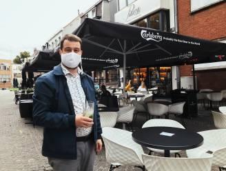 """Heropening terrassen: """"Dubbel gevoel"""", zegt Rogier Schockaert (Unizo Oost-Vlaanderen)"""