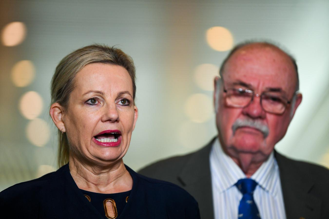 De Australische minister van Milieu, Sussan Ley.
