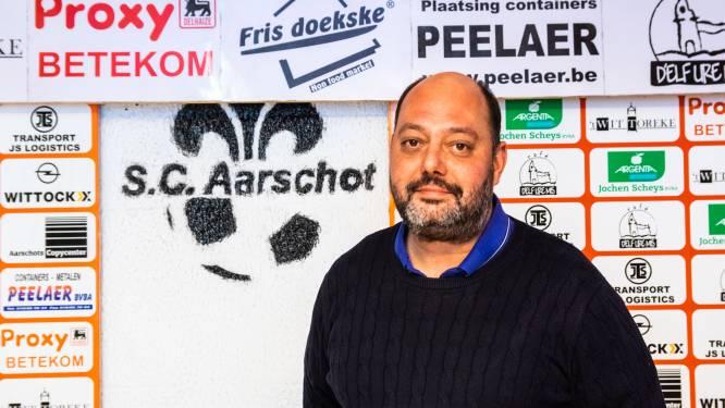 """Voorzitter Dimitri Van Camp (SC Aarschot) reageert op geruchten over mogelijk faillissement: """"We beginnen vol goede moed aan een nieuw hoofdstuk"""""""