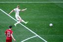 De 2-1 van Kevin De Bruyne tegen Denemarken werd genomineerd als mogelijke Goal van het EK.