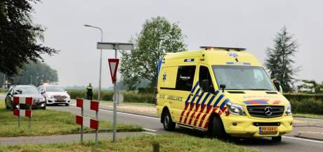 Fietser gewond naar het ziekenhuis na ongeval in Oldenzaal