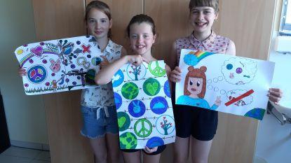 Leerlingen Het Spoor vallen in de prijzen met posters voor vrede