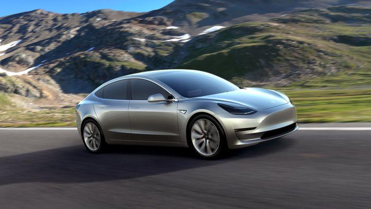 Hoe kun je door cryptomunten te delven een Tesla bijeen sparen. Simon Vanherweghe doet het experiment. Beeld EPA
