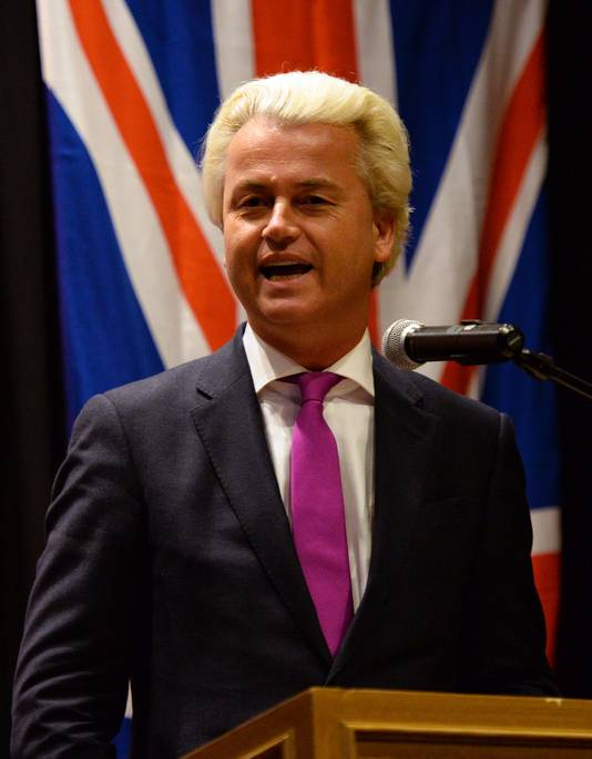 Foto's van het bezoek van Geert Wilders in februari aan Australië, waar hij sprak in Melbourne en Sydney.