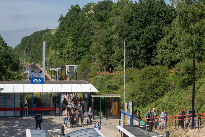 Station Rhenen waar regelmatig meldingen komen van mensen die met verward gedrag voor overlast zorgen.