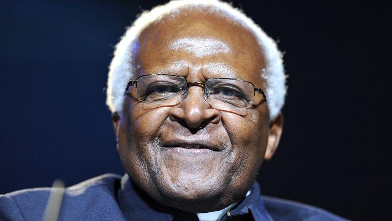 Beleidsmakers moeten zich richten op een meer duurzame benadering in plaats van enkel op economische groei, vindt aartsbisschop Desmond Tutu. Beeld UNKNOWN