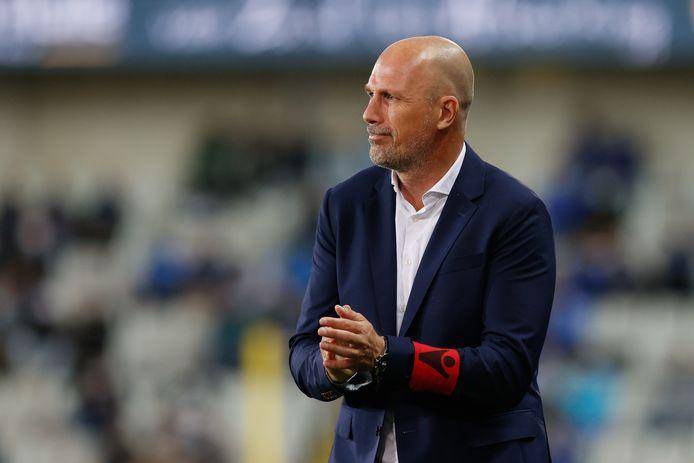 Clement een tevreden coach na de 4-1-zege van Club tegen Waasland-Beveren.