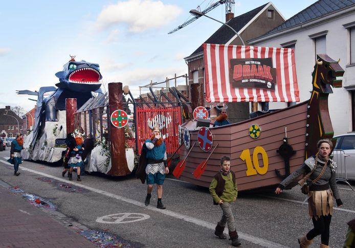 Archiefbeeld van Kindercarnaval in Weelde