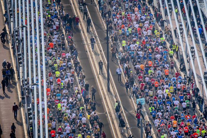 Er doen dit jaar 17.000 mensen mee met de NN Marathon.
