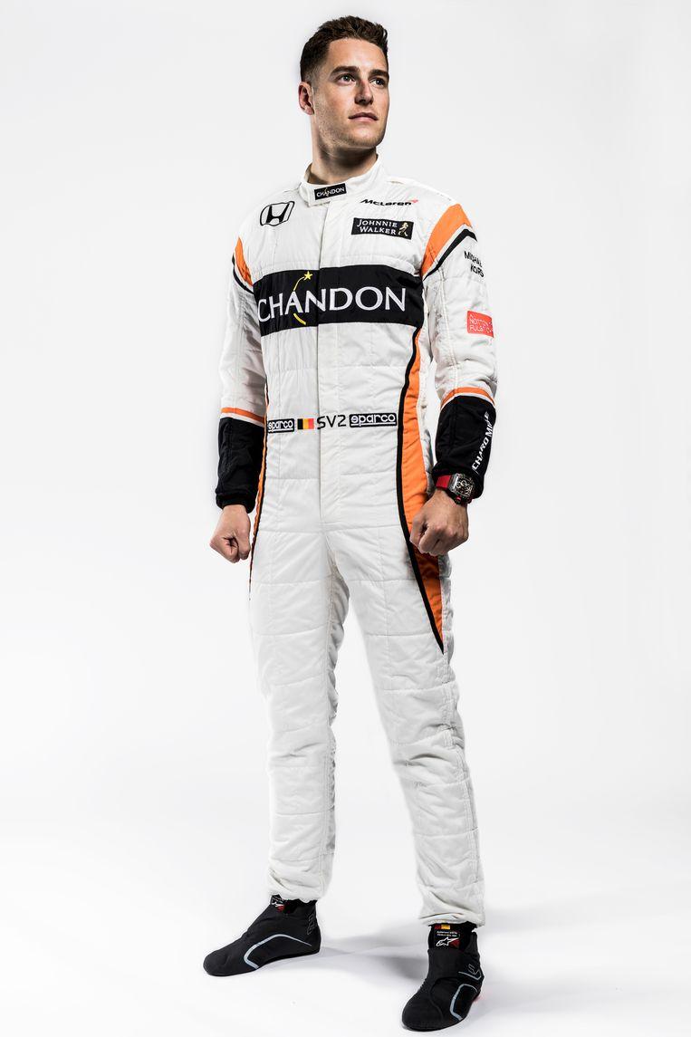 Stoffel Vandoorne racet voor McLaren, het mythische team waar ook Jacky Ickx in 1973 (even) voor reed. Beeld Glenn Dunbar / RV