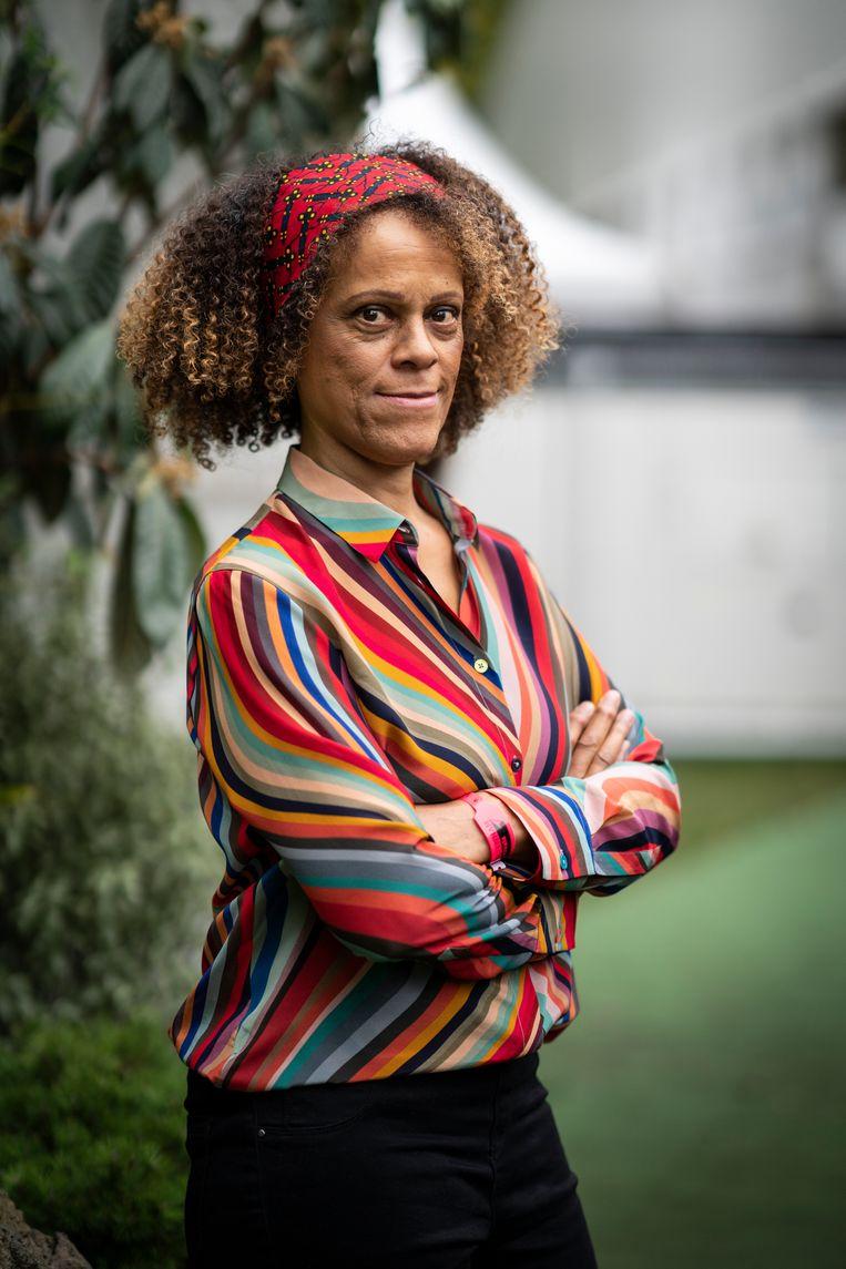 Bernardine Evaristo: 'Mensen hebben verzorging en liefde nodig om van zichzelf te kunnen houden.' Beeld Getty Images