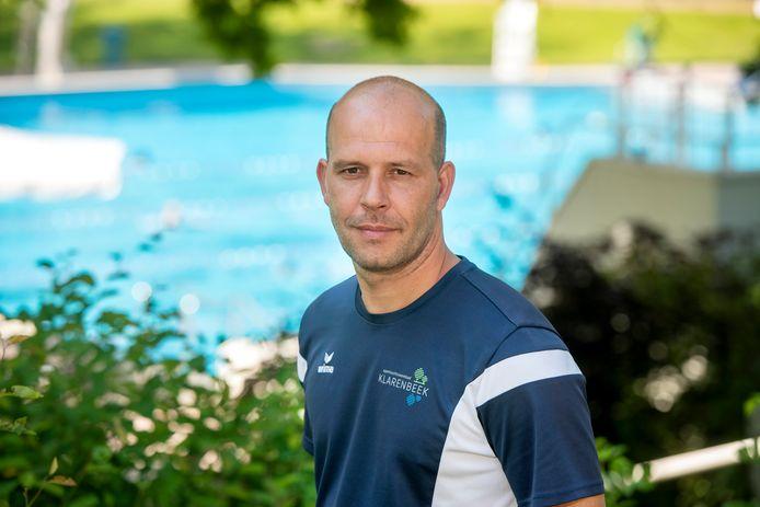 Moreno Morais, de nieuwe beheerder van zwembad Klarenbeek.