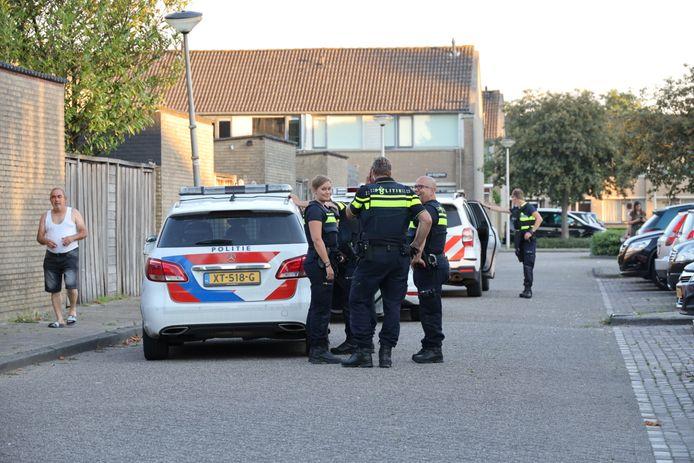 Een persoon raakte gewond bij het incident aan het Schubertpark in Waalwijk.