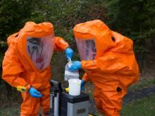Oranje 'marsmannetjes' doen onderzoek in Meddo