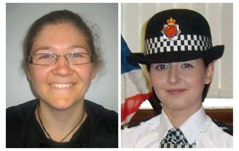 Fiona Bone en Nicola Hughes (r). Beeld reuters
