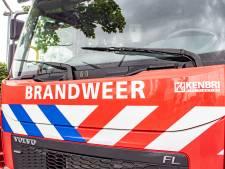 Schuurbrand in Bussum