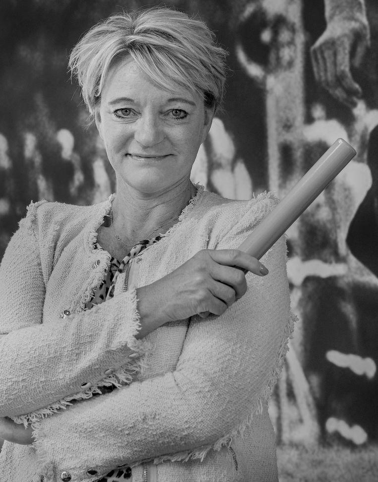 Ellen Van Langen, oud-atlete en Olympisch Kampioen van 1992. Beeld Patrick Post