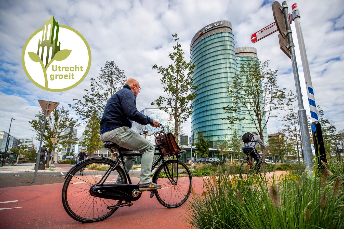 Minder fietsen, meer wandelen in 2040.
