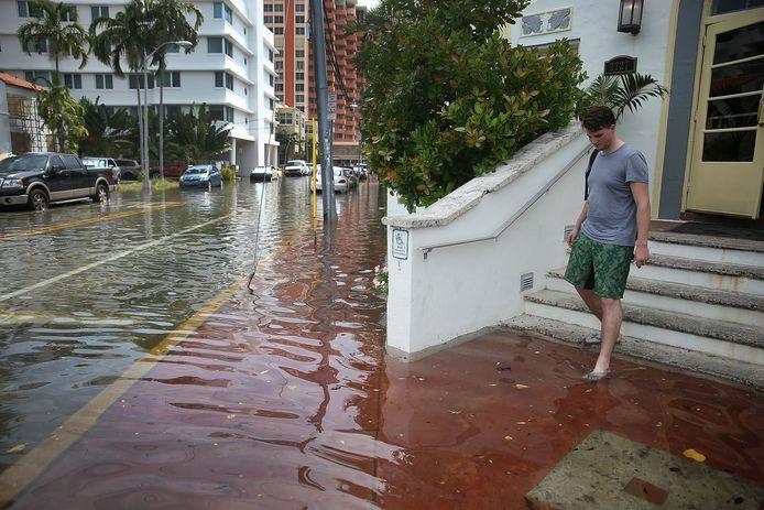 Overstromingen in Florida in 2015.