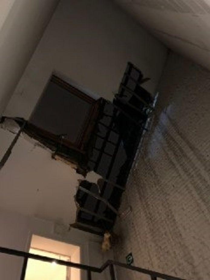 Dakbrand in kantoorgebouw Elsene.