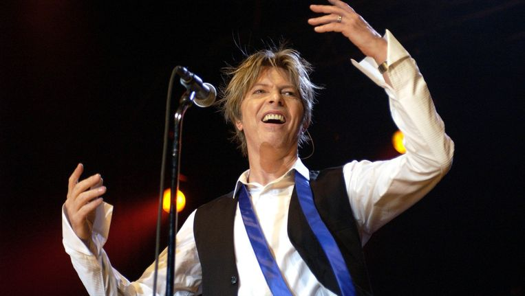 David Bowie in 2002. Beeld AFP
