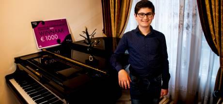 Adam (12) uit Apeldoorn wint Koninklijk Concertgebouw Concours: 'Ik kan me geen leven zonder pianomuziek voorstellen'