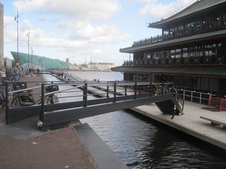 De Simon Carmiggeltbrug Beeld Bruggenvanamsterdam