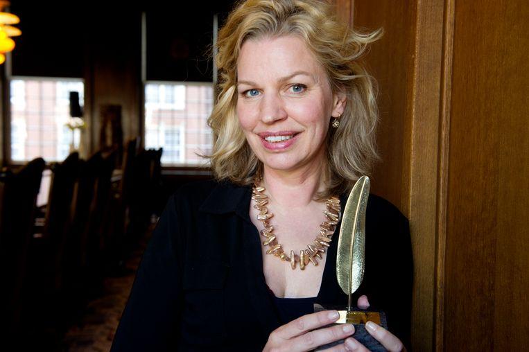 Annejet van der Zijl gaat het Boekenweekgeschenk van 2020 schrijven.  Beeld ANP Kippa
