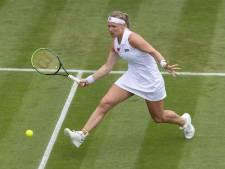 Bertens ook in dubbelspel uitgeschakeld op Wimbledon, Haase wel verder
