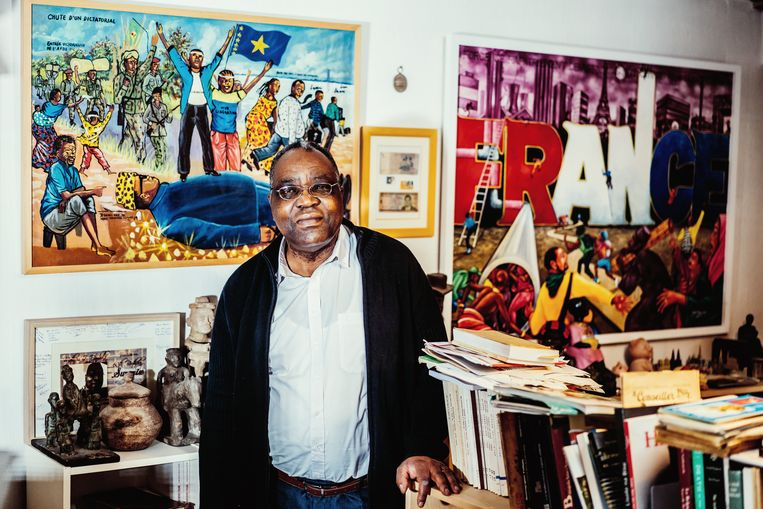 De Congolees-Belgische historicus  Beeld © Stefaan Temmerman