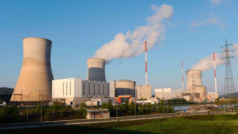Reactor 2 van de centrale in Tihange viel stil door een motorpanne. Beeld AFP