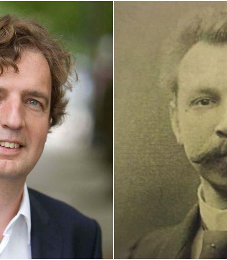 Edese burgemeester Verhulst speelt in familiefilm voorganger uit 1905: 'Snor verhult veel'