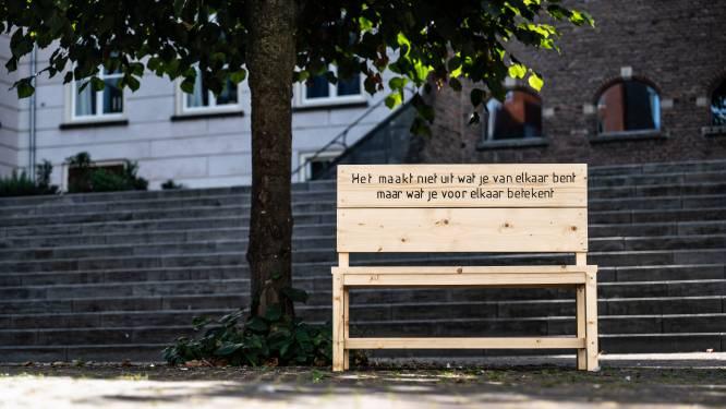 Wie plaatst toch die mysterieuze houten bankjes door heel Nijmegen?