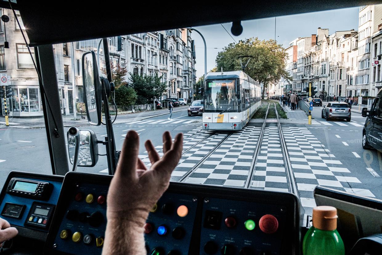 Een onvoldoende voor betrouwbaarheid en stiptheid krijgt de vervoersmaatschappij in een grote benchmarkstudie. Beeld Bob Van Mol