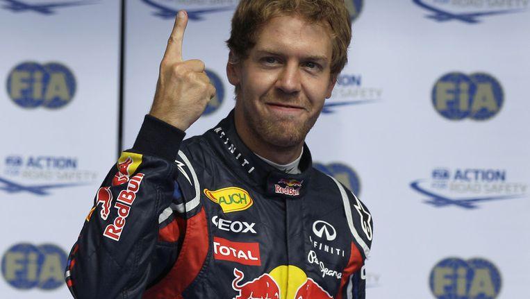 Sebastian Vettel. Beeld ap