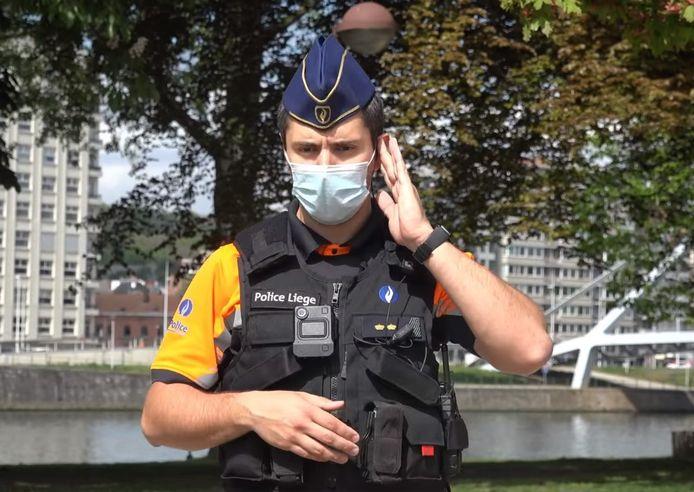 Depuis ce 20 mai 2021, certains policiers liégeois sont munis de bodycams.